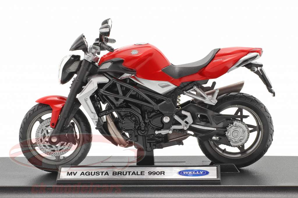 MV Agusta Brutale 990R rosso 1:18 Welly