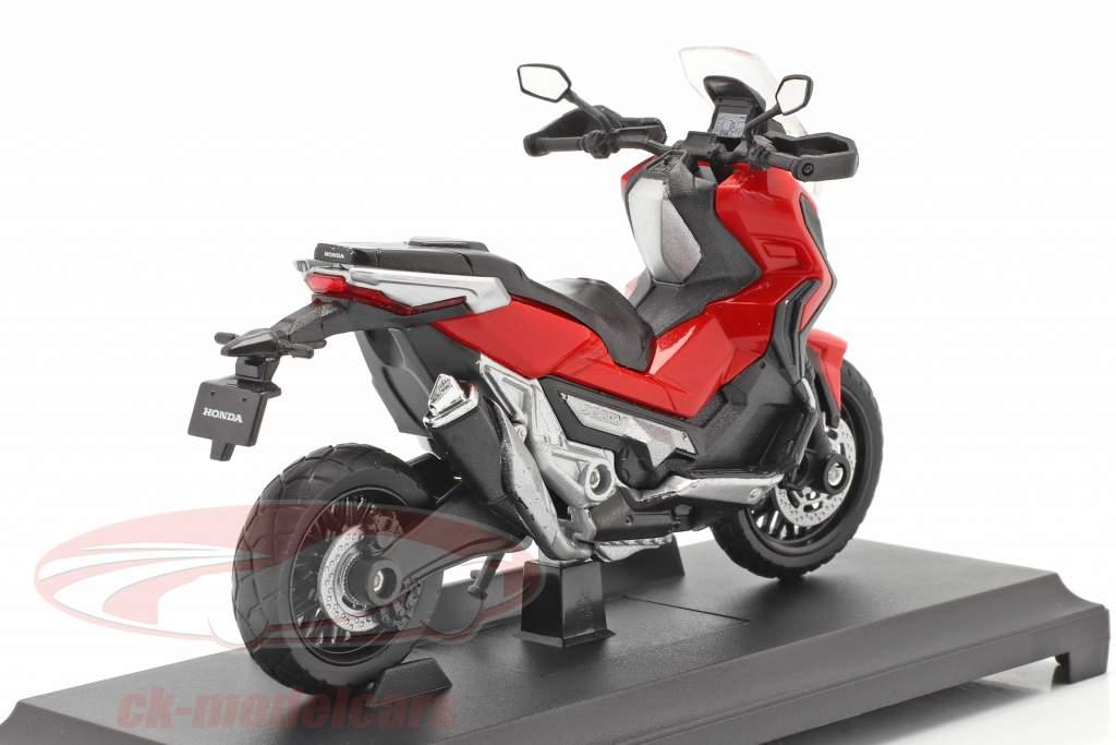 Honda X-ADV Ano de construção 2018 vermelho / Preto 1:18 Welly