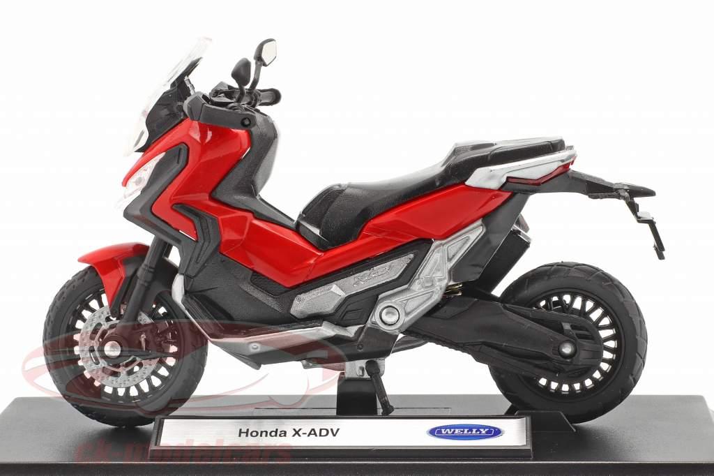Honda X-ADV Anno di costruzione 2018 rosso / nero 1:18 Welly