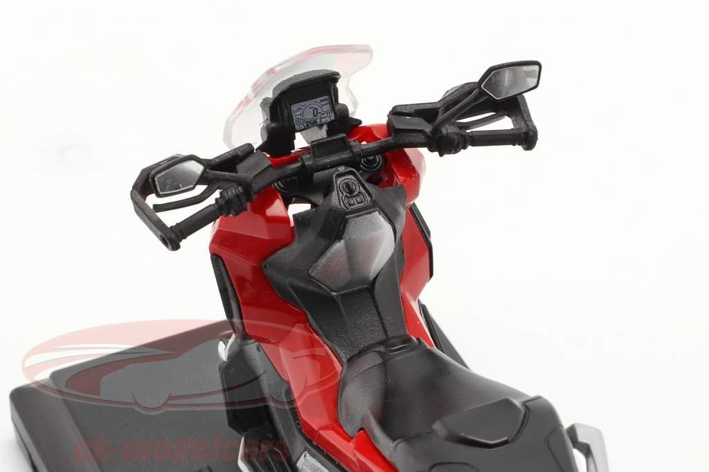Honda X-ADV Année de construction 2018 rouge / noir 1:18 Welly