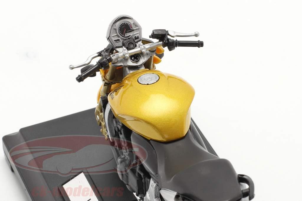 Honda Hornet geel 1:18 Welly