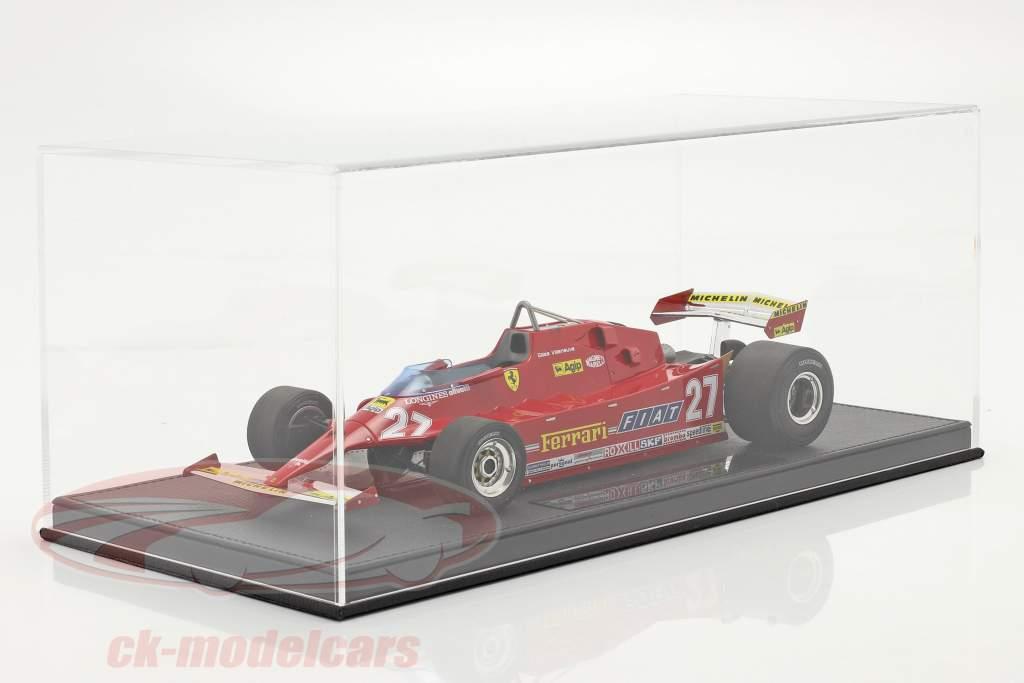 G. Villeneuve Ferrari 126CX #27 Prática EUA Oeste GP Fórmula 1 1981 1:18 GP Replicas