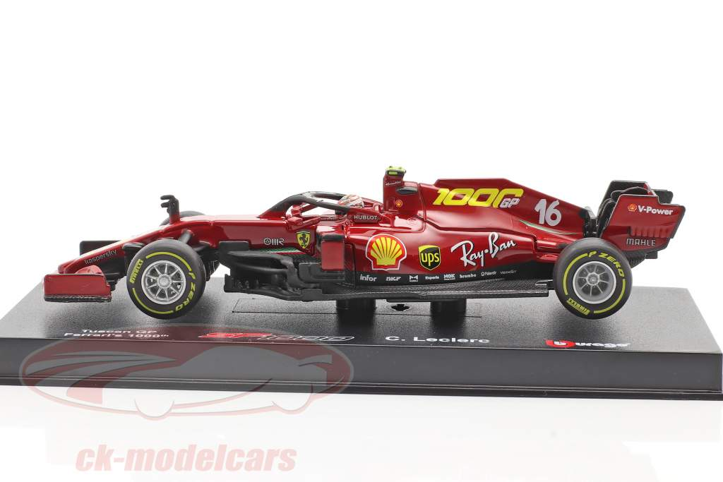 C. Leclerc Ferrari SF1000 #16 1000 GP Ferrari Toscana GP F1 2020 1:43 Bburago
