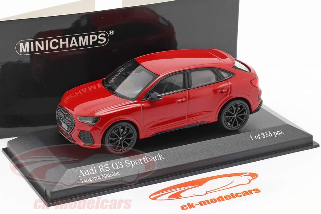 Audi RS Q3 Sportback (F3) Anno di costruzione 2019 tango rosso metallico 1:43 Minichamps
