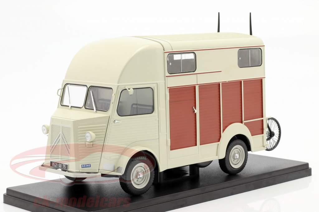 Citroen Type H version Van Heuliez beige 1:24 Hachette