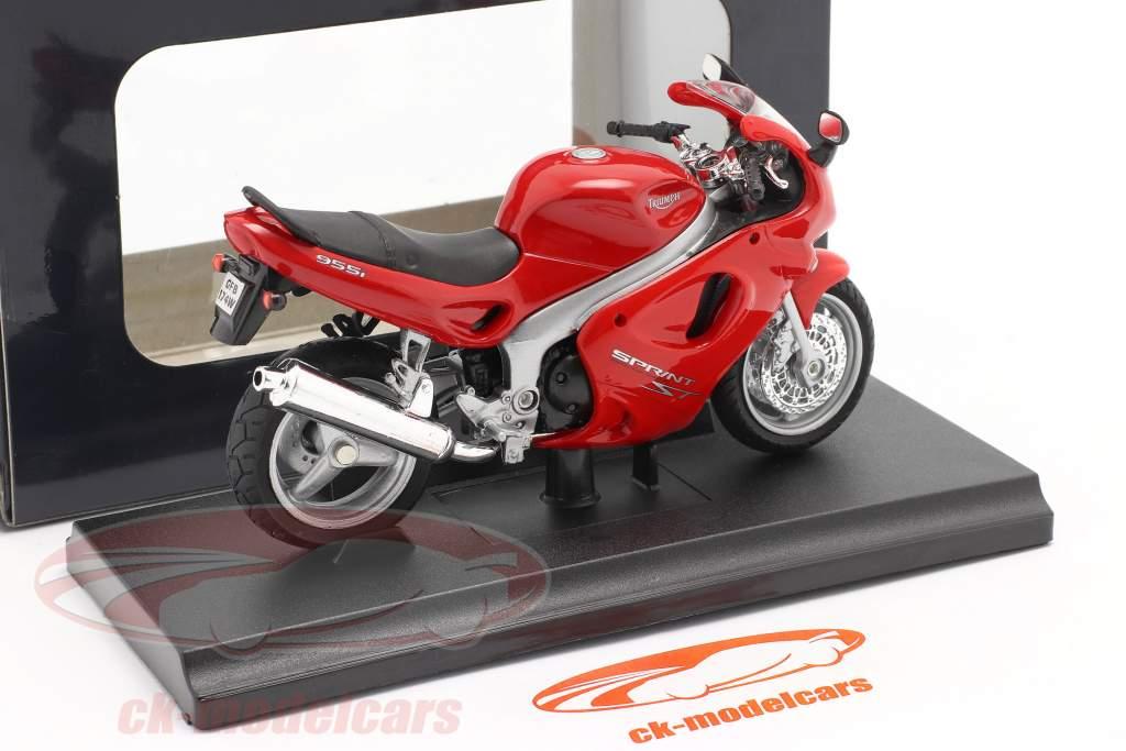 Triumph Sprint ST Año de construcción 2002 rojo 1:18 Welly