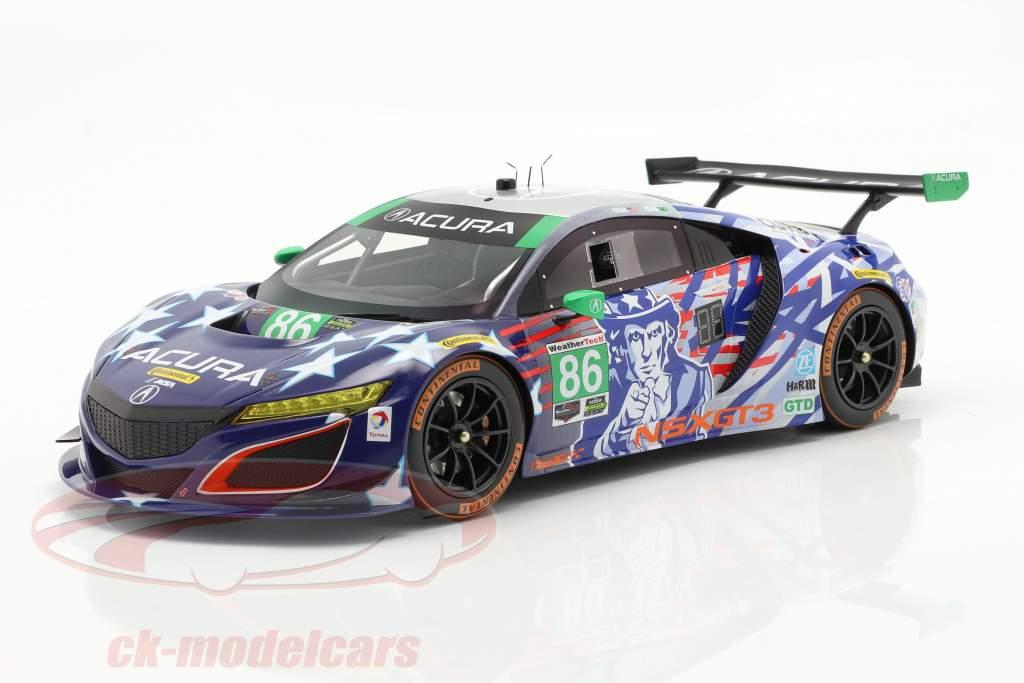 Acura NSX GT3 Uncle Sam #86 6h Watkins Glen IMSA 2017 1:18 TrueScale
