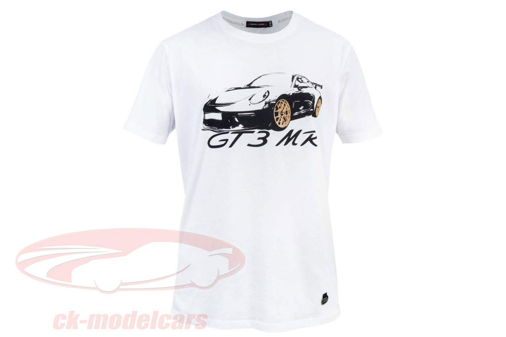Manthey Racing T-Shirt Porsche 911 GT3 MR hvid