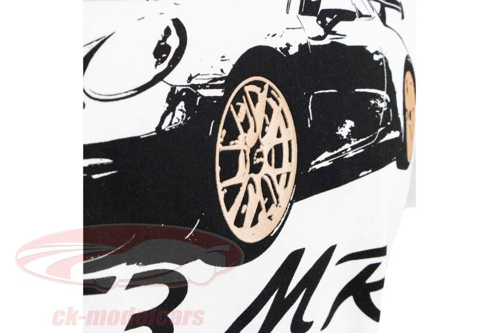 Manthey Racing T-Shirt Porsche 911 GT3 MR bianca