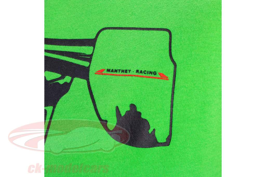 Manthey Racing T-Shirt Porsche 911 GT3 RS MR vert