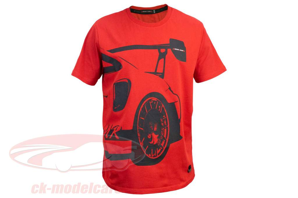 Manthey Racing T-Shirt Porsche 911 GT2 RS MR rojo