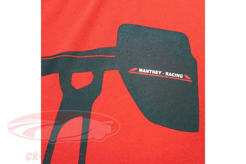 Manthey Racing T-Shirt Porsche 911 GT2 RS MR rouge