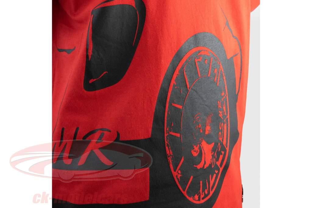 Manthey Racing T-Shirt Porsche 911 GT2 RS MR red