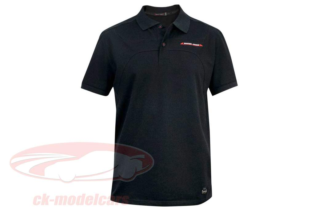 Manthey Racing Polo-Shirt Heritage nero