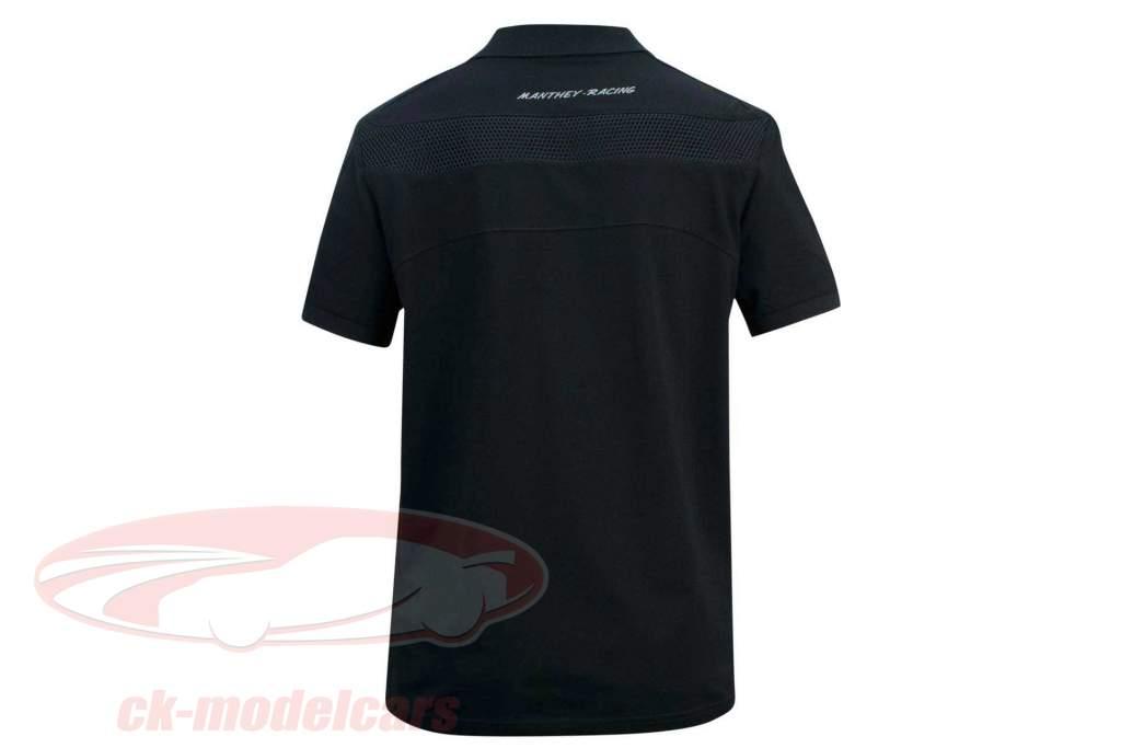 Manthey Racing Polo-Shirt Heritage Preto
