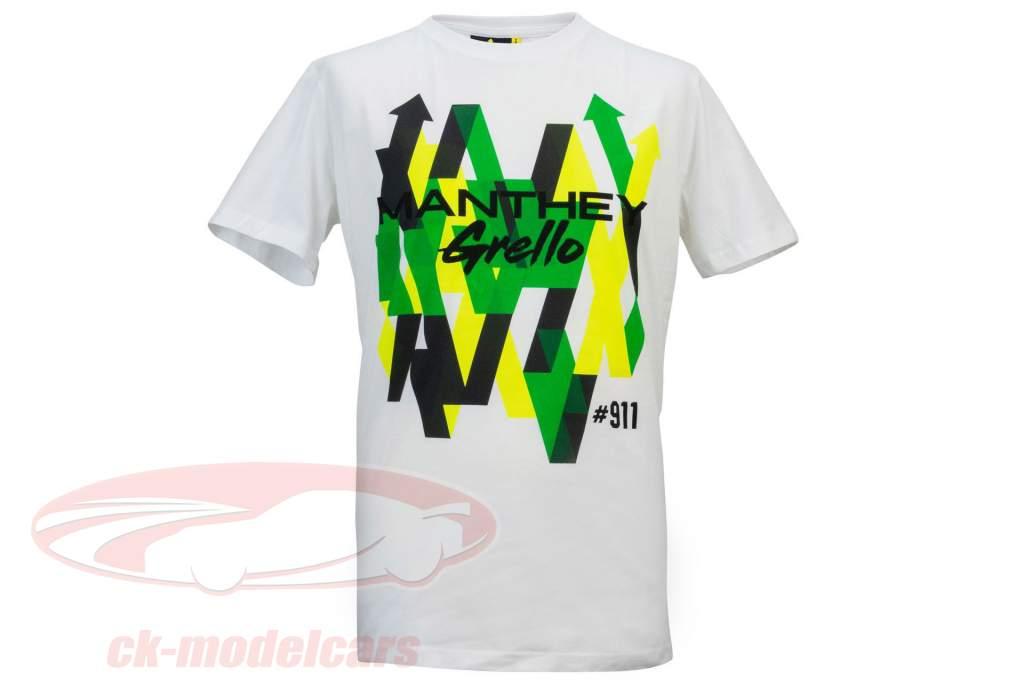 Manthey Racing T-Shirt Grafisch Grello #911 Wit