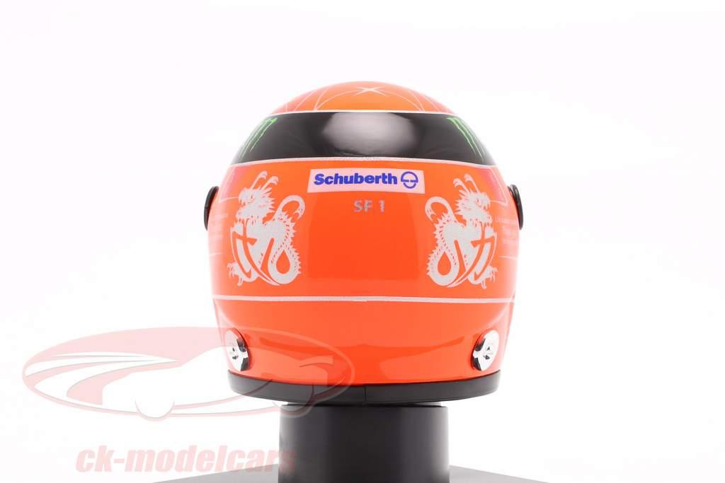M. Schumacher Mercedes W03 Last Race Sao Paulo formule 1 2012 casque 1:4 Schuberth