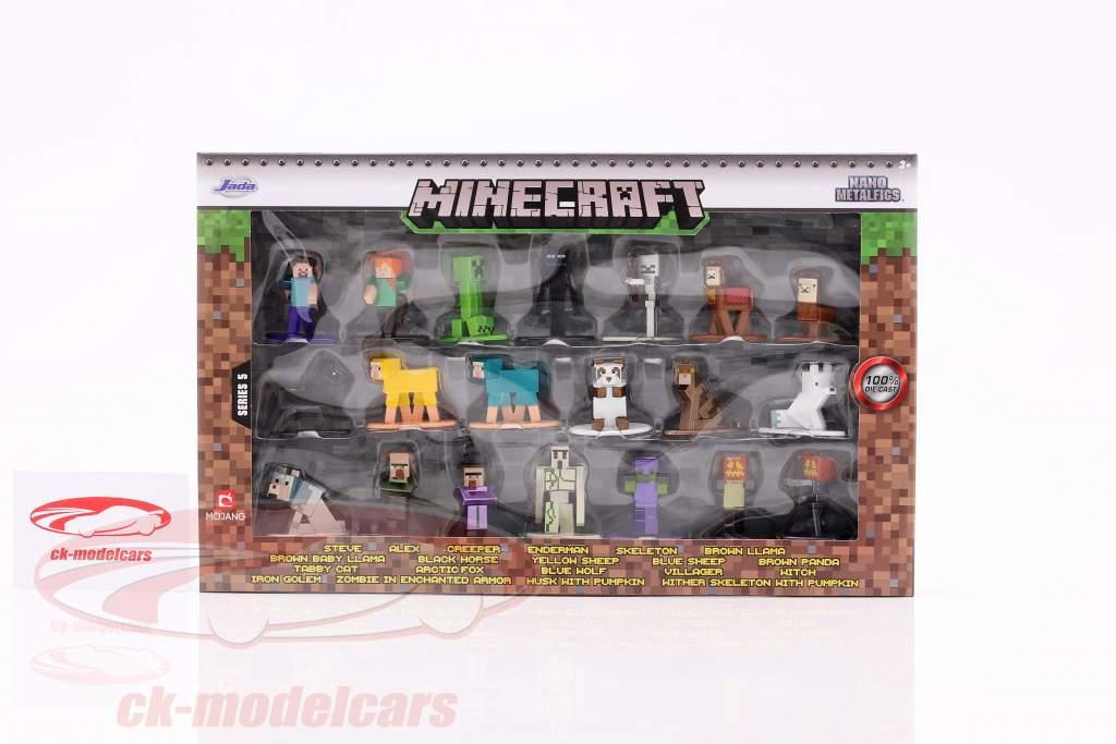 Minecraft Set 20 Figuren Serie 5 Jada Toys