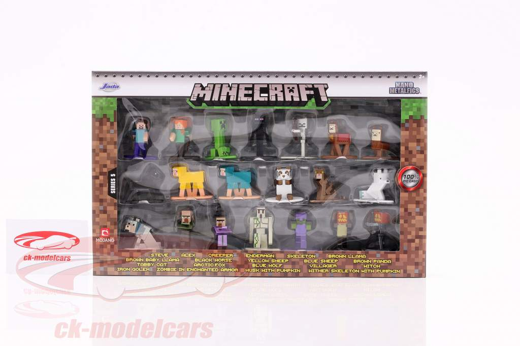 Minecraft Set 20 tegn serie 5 Ja der Toys