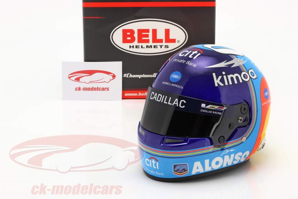 Fernando Alonso #10 Gagnant 24h Daytona 2019 casque 1:2 Bell