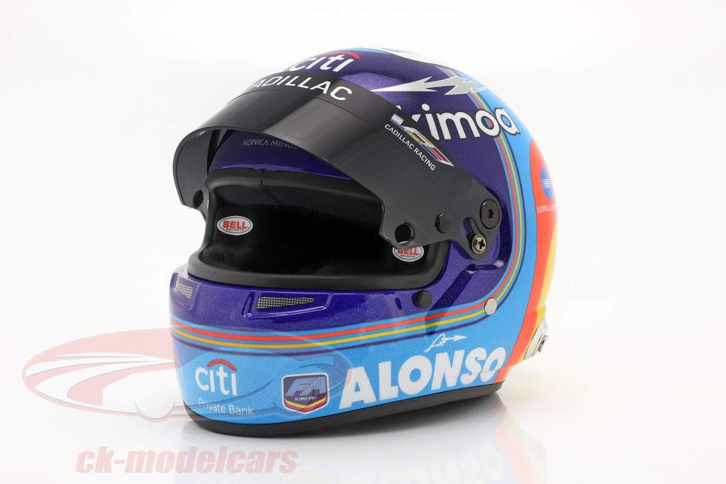 Fernando Alonso #10 Vincitore 24h Daytona 2019 casco 1:2 Bell