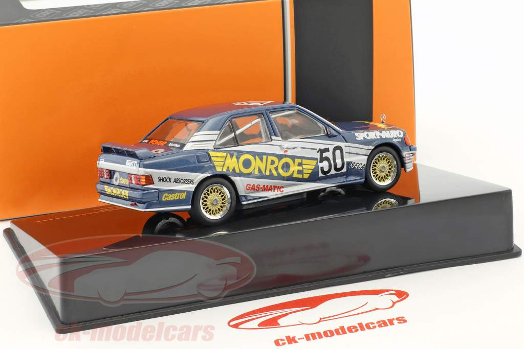 Mercedes-Benz 190E 2.3-16V #50 ETCC 1986 van Dalen, de Dryver, de Deyne 1:43 Ixo / 2. choix