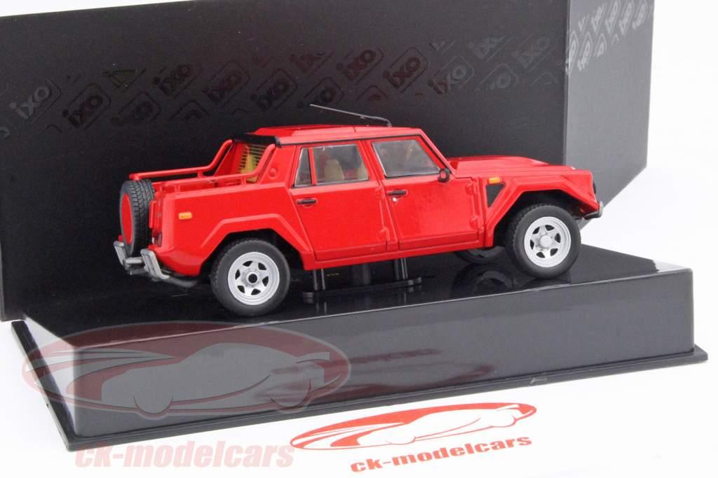 Lamborghini LM002 an 1986 rouge 1:43 Ixo / 2e choix