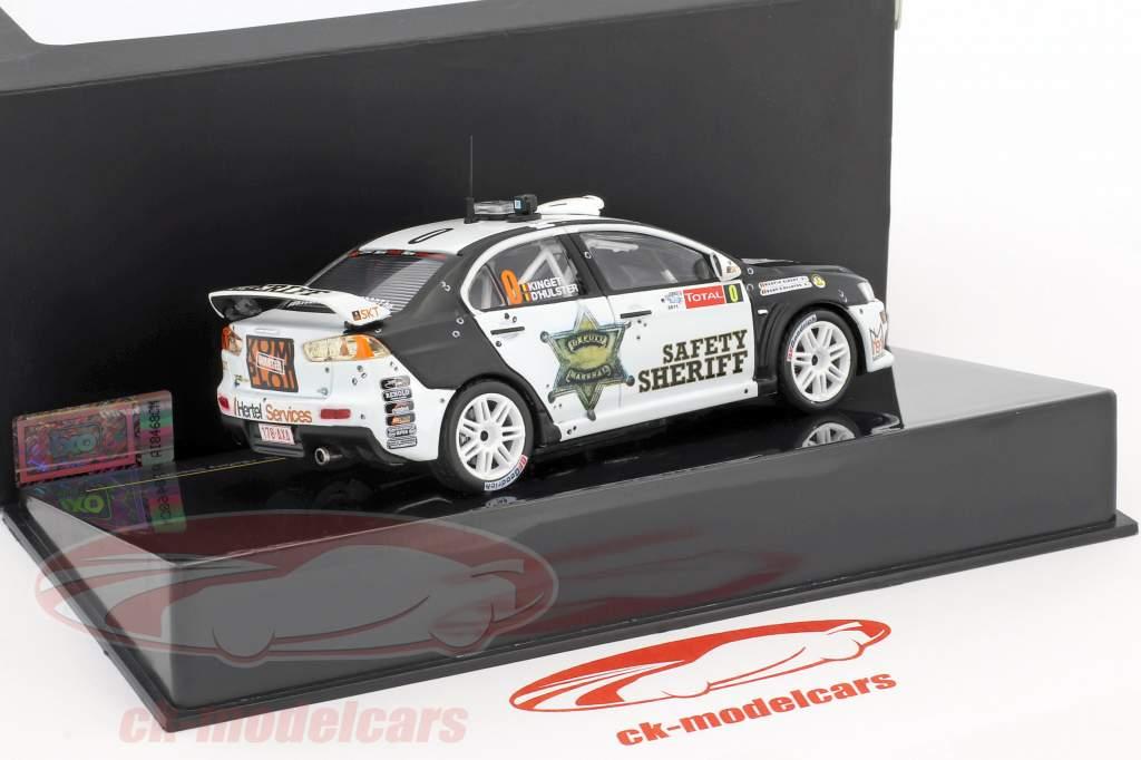 Mitsubishi Lancer Evo X #0 Safety Car Geko Ypres rally 2011 1:43 Ixo / 2. keuze