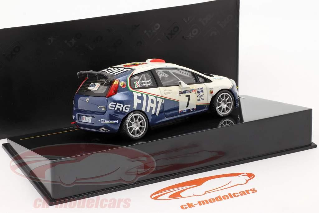 Fiat Punto S2000 #7 samle Mille Miglia 2006 Andreucci, Andreussi 1:43 Ixo / 2. valg