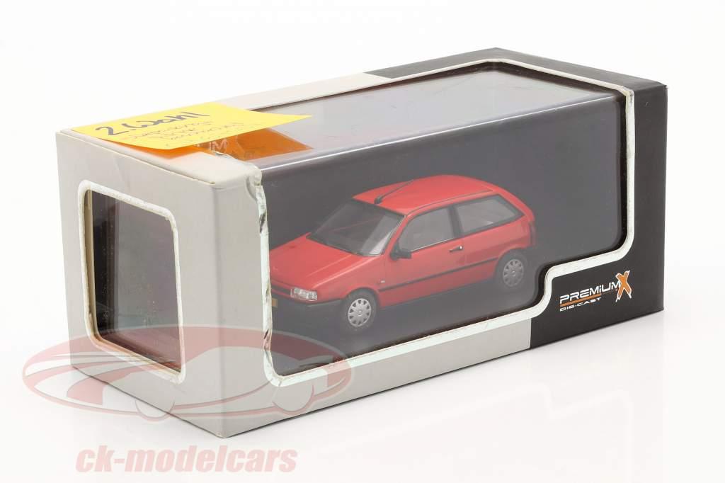 Fiat Tipo 3 deuren jaar 1995 rood 1:43 Premium X / 2e keuze