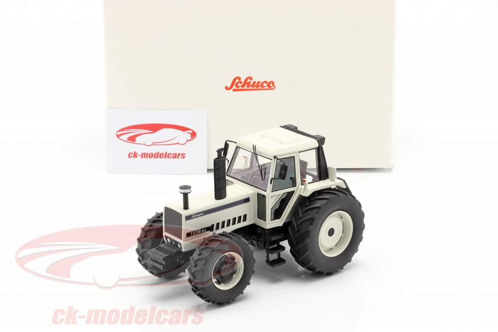 Lamborghini 1556 DT tractor Wit 1:32 Schuco