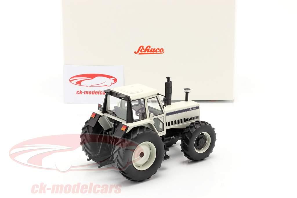 Lamborghini 1556 DT traktor hvid 1:32 Schuco
