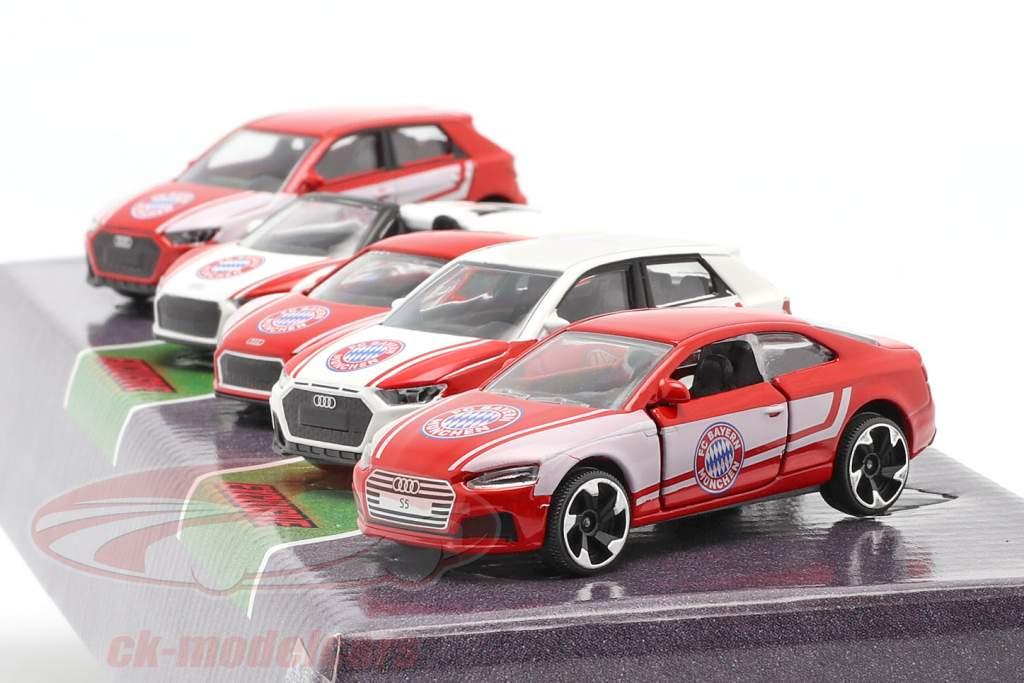 5-Car Set Audi FC Bayern München 1:64 Majorette