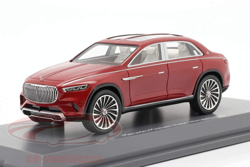 Mercedes-Benz Maybach Vision Ultimate Luxury rosso metallico 1:43 Schuco