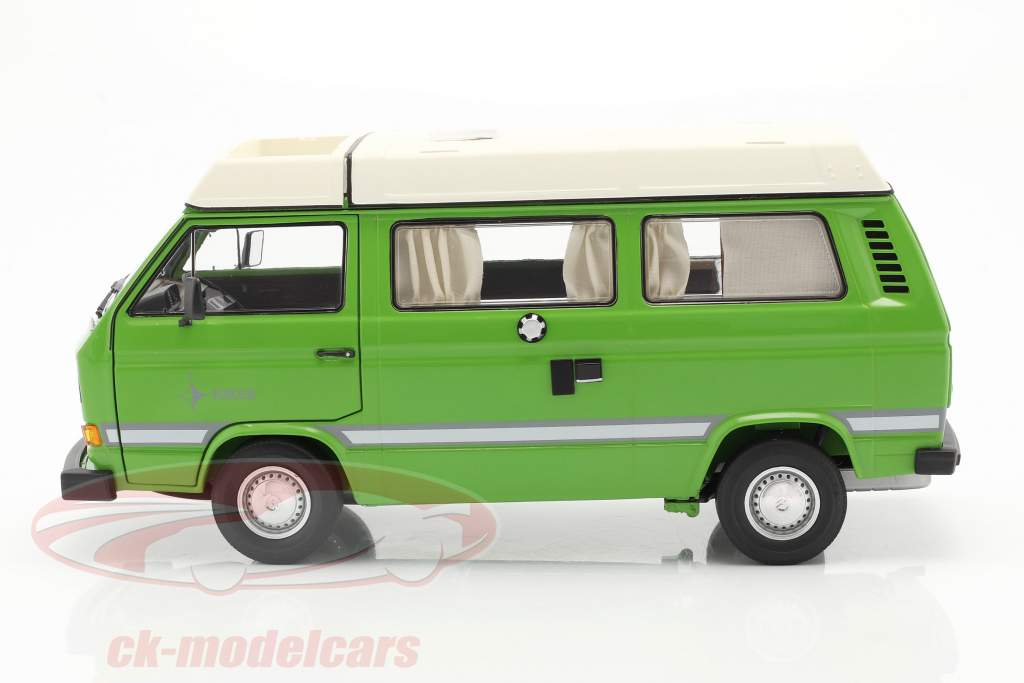 Volkswagen VW T3a Joker Camper Com Telhado dobrável verde 1:18 Schuco