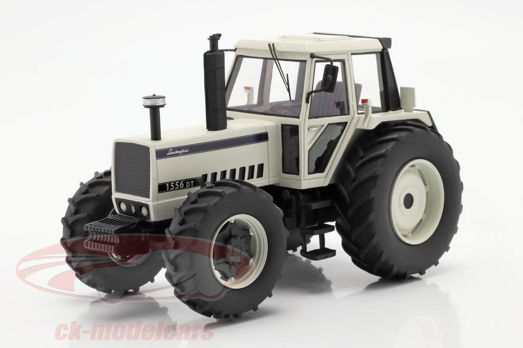 Lamborghini 1556 DT Traktor weiß 1:32 Schuco