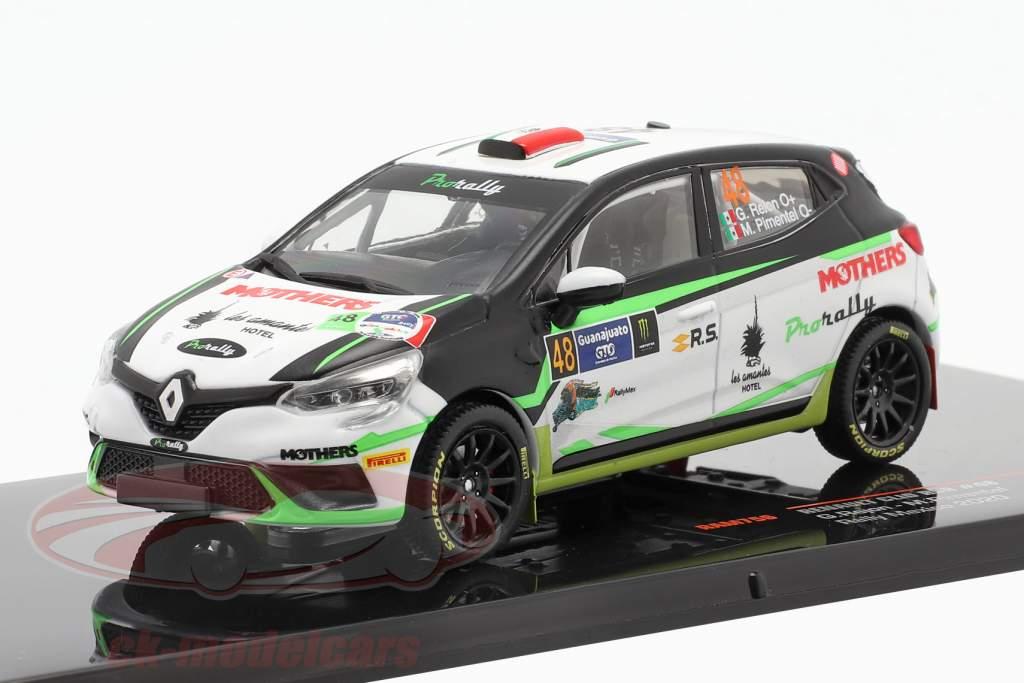 Renault Clio RSR #48 Rallye Mexique 2020 Rejon, Pimentel 1:43 Ixo