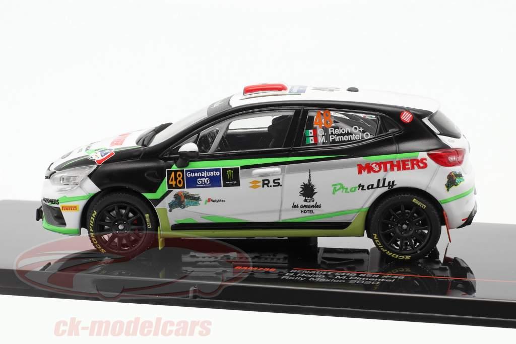 Renault Clio RSR #48 Rallye Messico 2020 Rejon, Pimentel 1:43 Ixo