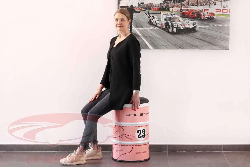 Oil drum stool Porsche 917/20 Pink Pig #23