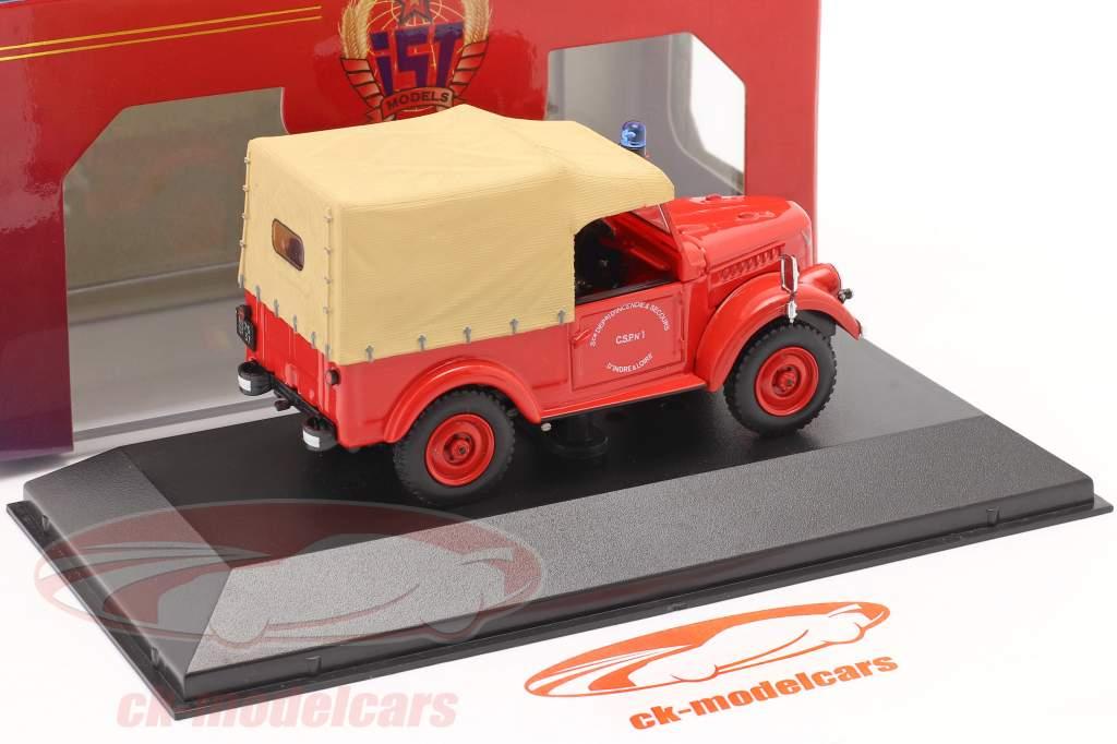 ARO M59A fuego Departamento año 1962 rojo / beige 1:43 IST-Models