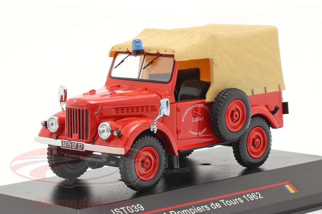 ARO M59A ild Afdeling år 1962 rød / beige 1:43 IST-Models