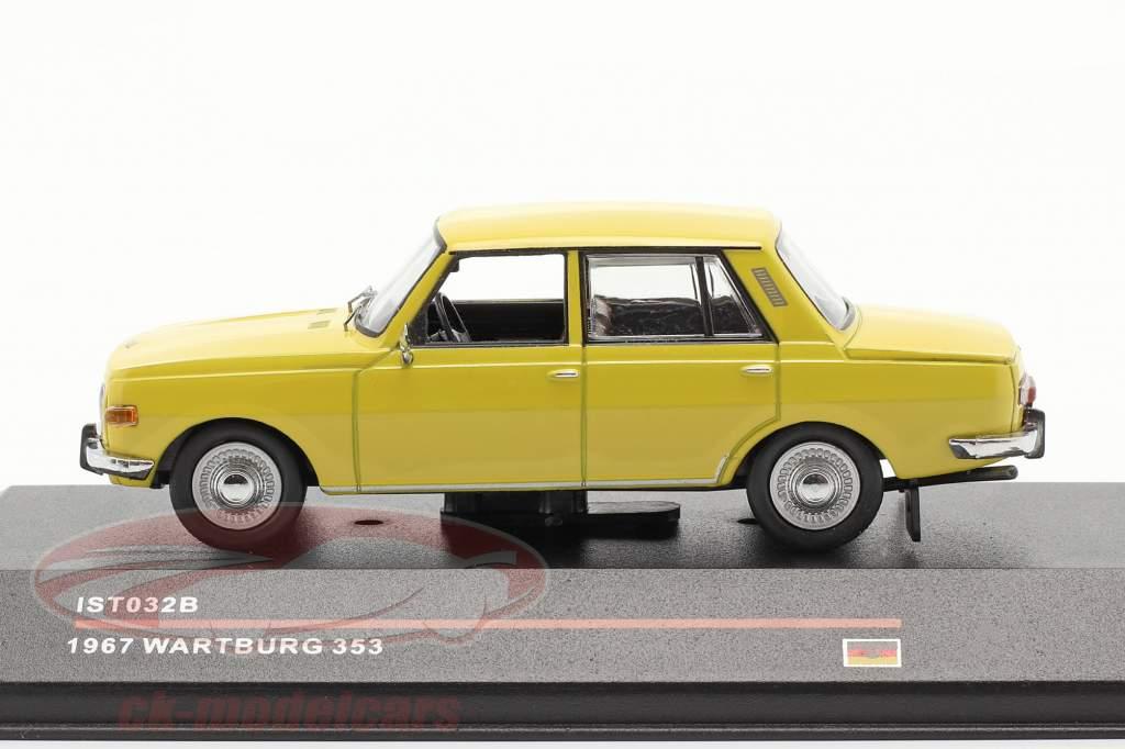 Wartburg 353 Baujahr 1967 gelb 1:43 IST-Models