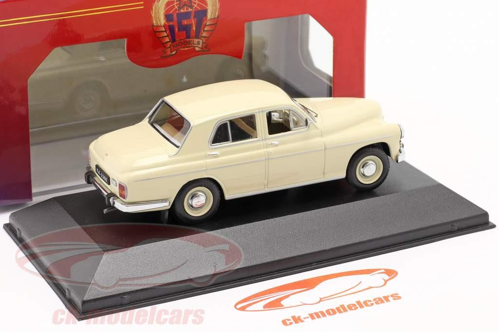 Warszawa 203 año 1964 beige 1:43 IST-Models