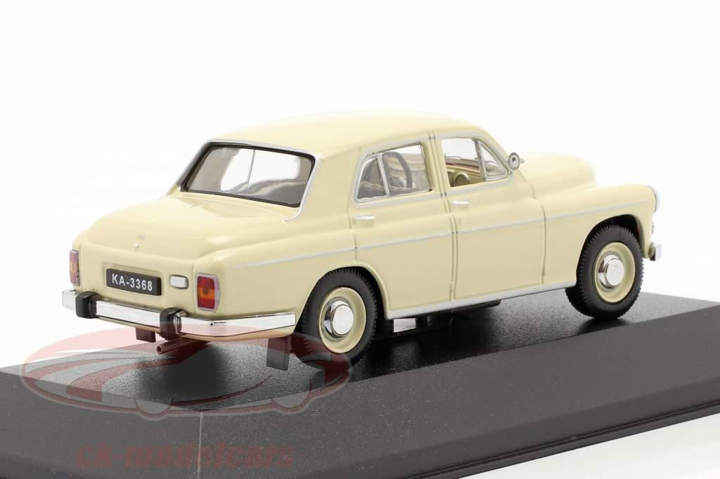 Warszawa 203 Baujahr 1964 beige 1:43 IST-Models