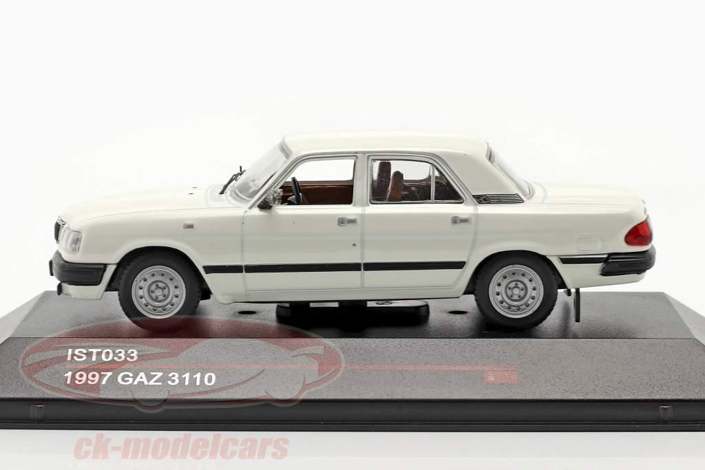 GAZ 3110 an 1997 blanc 1:43 IST-Models