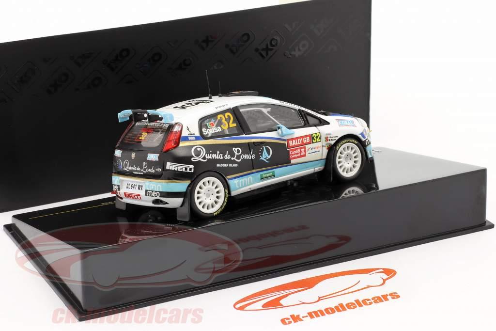Fiat Grande Punto S2000 #32 Wales GB reunión 2009 Sousa, Carvalho 1:43 Ixo