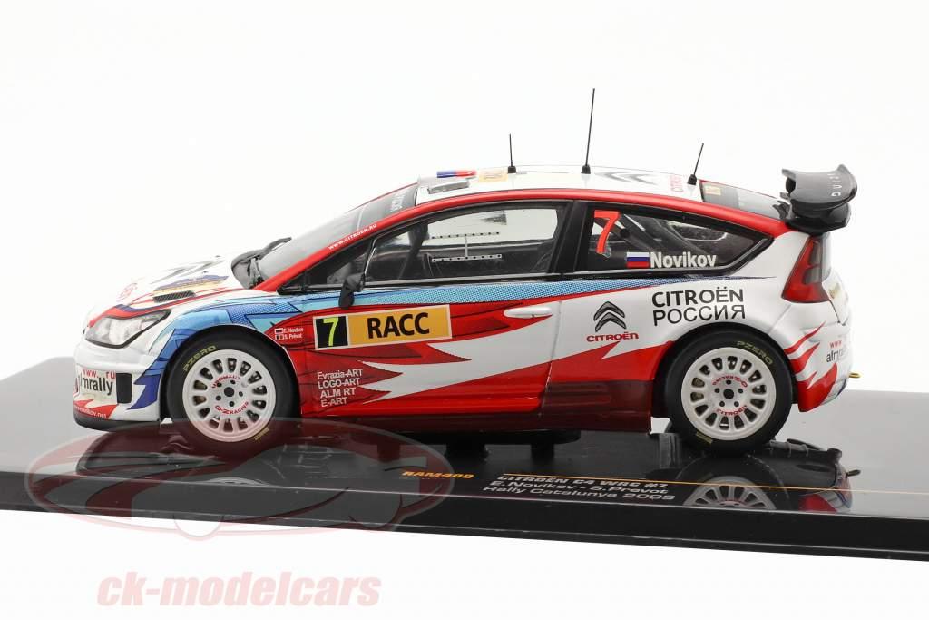 Citroen C4 WRC #7 samle Catalunya 2009 Novikov, Prevot 1:43 Ixo