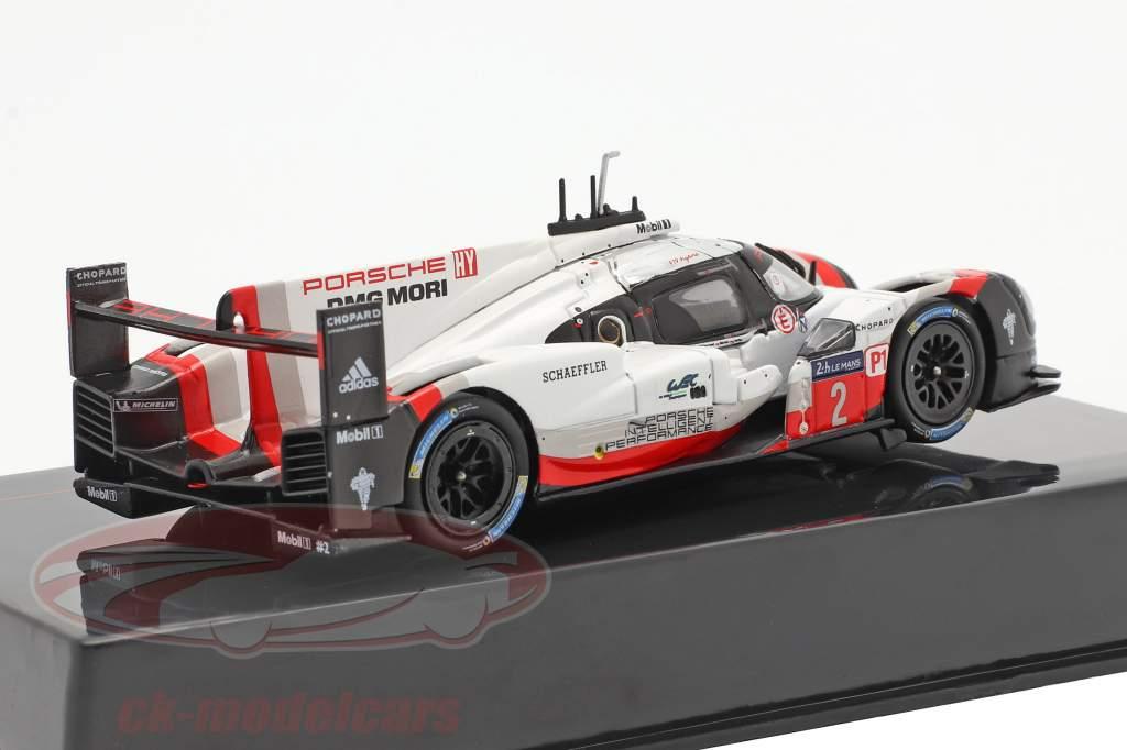 Porsche 919 Hybrid #2 vencedora 24h LeMans 2017 Bernhard, Hartley, Bamber 1:43 Ixo