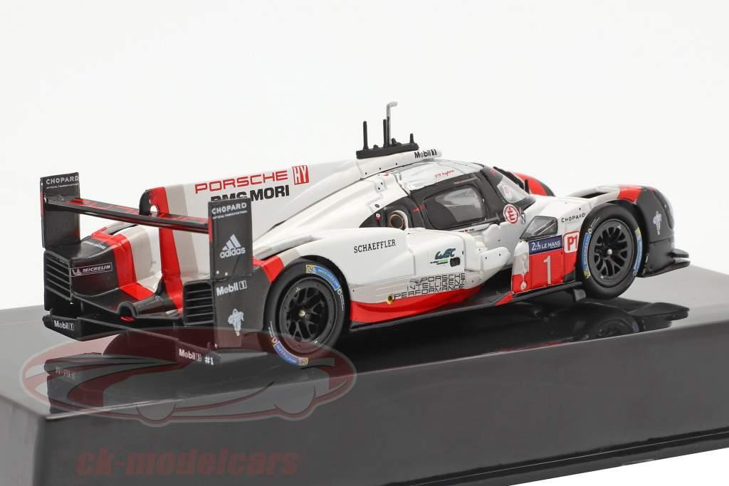 Porsche 919 Hybrid #1 24h LeMans 2017 Jani, Tandy, Lotterer 1:43 Ixo