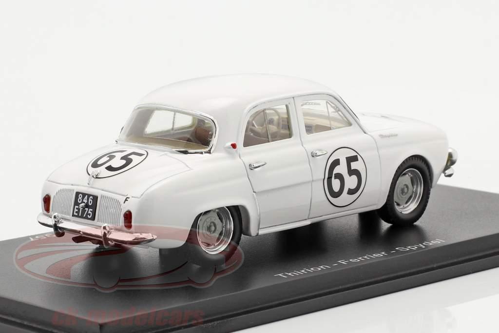 Renault Dauphine #65 12h Sebring 1957 Thirion, Ferrier, Spydel 1:43 Spark